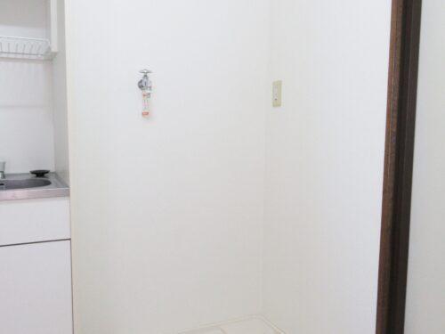 洗濯機置場は室内にあります♪
