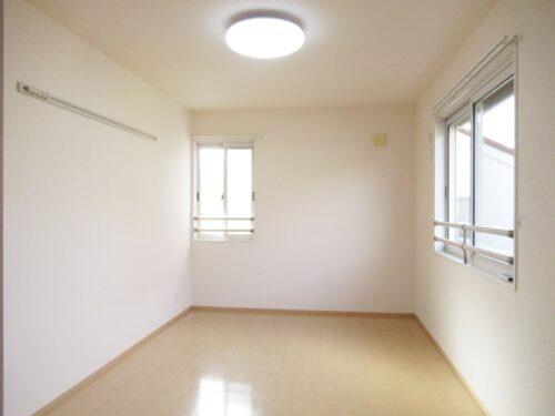 居室も2面採光です!
