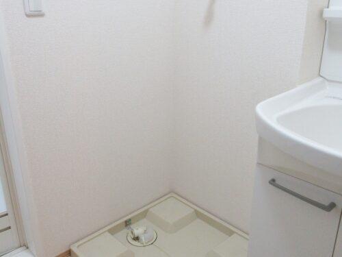 洗濯機置場は室内にあります!